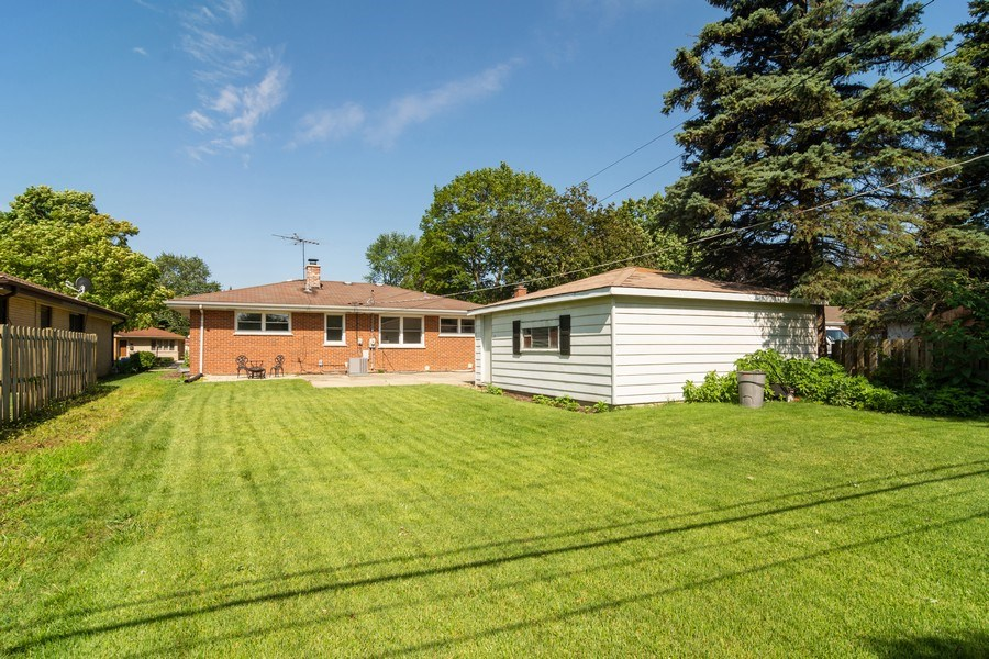 Real Estate Photography - 605 N Wille St, Mount Prospect, IL, 60056 - Rear View