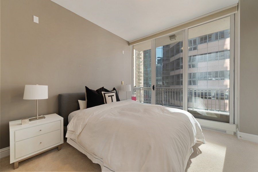 Real Estate Photography - 55 E. Erie St., #1604, Chicago, IL, 60611 - 2nd Bedroom