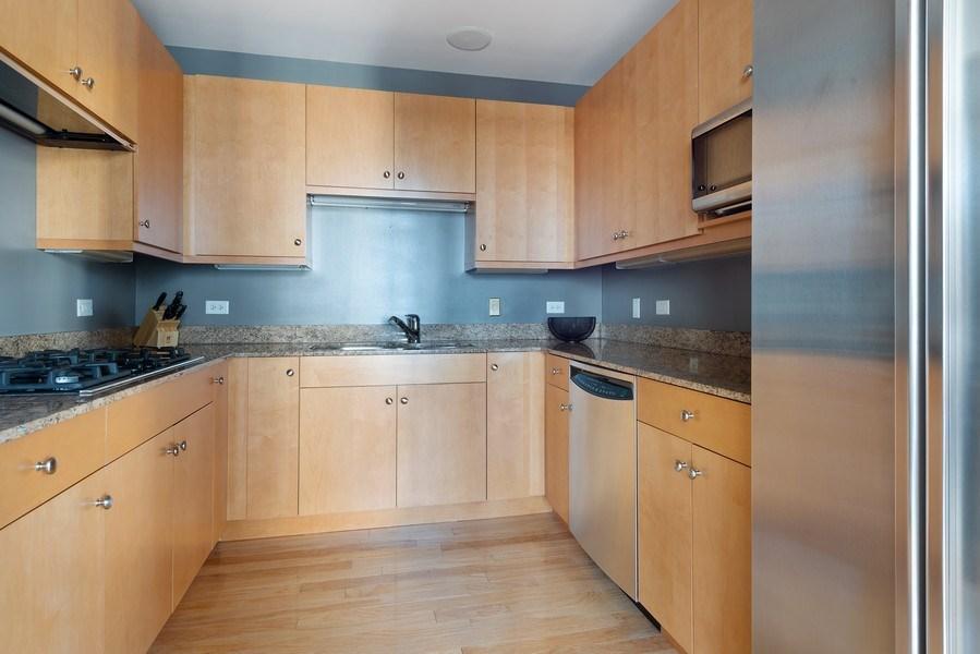 Real Estate Photography - 55 E. Erie St., #1604, Chicago, IL, 60611 - Kitchen