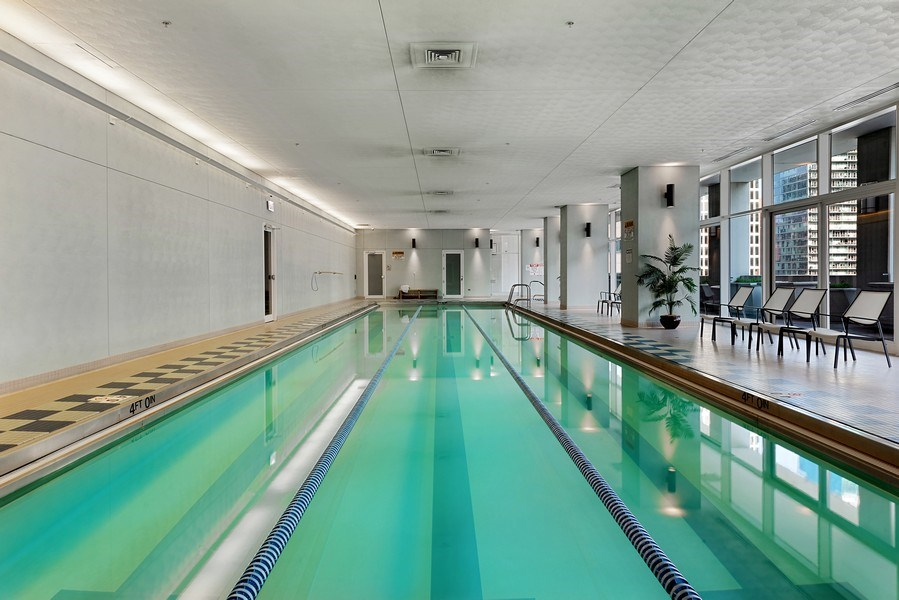 Real Estate Photography - 55 E. Erie St., #1604, Chicago, IL, 60611 - Pool