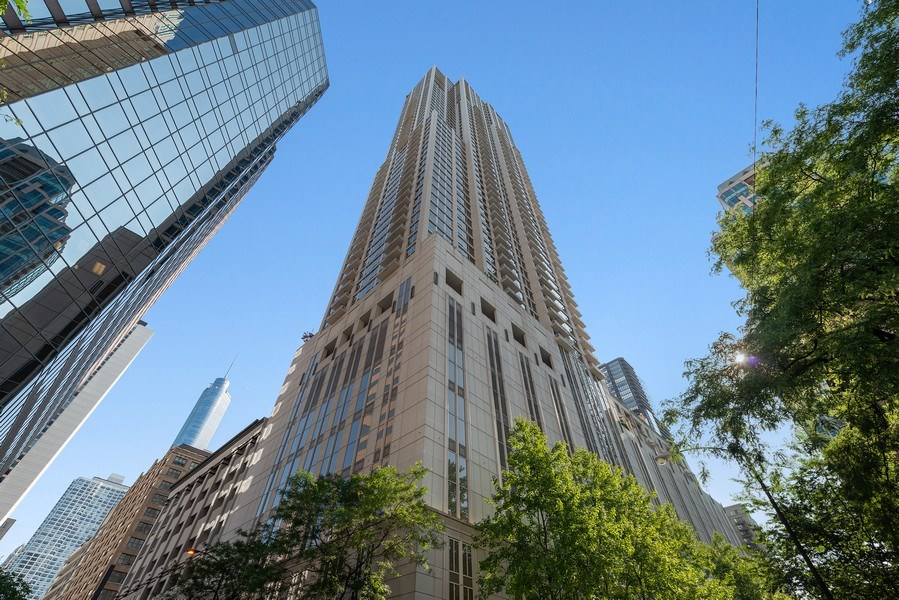 Real Estate Photography - 55 E. Erie St., #1604, Chicago, IL, 60611 - Front View