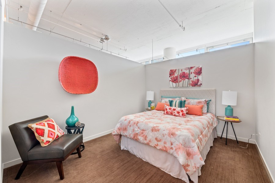 Real Estate Photography - 333 N. Canal, #1804, Chicago, IL, 60606 - Second Bedroom