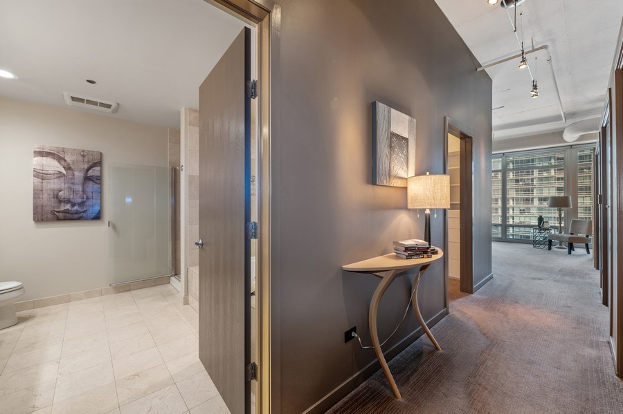 Real Estate Photography - 333 N. Canal, #1804, Chicago, IL, 60606 - Master Suite