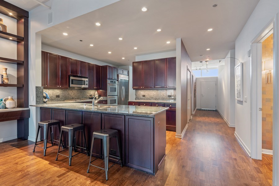 Real Estate Photography - 333 N. Canal, #1804, Chicago, IL, 60606 - Kitchen