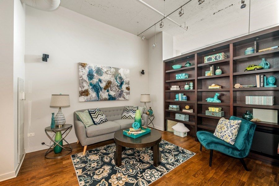 Real Estate Photography - 333 N. Canal, #1804, Chicago, IL, 60606 - Third Bedroom