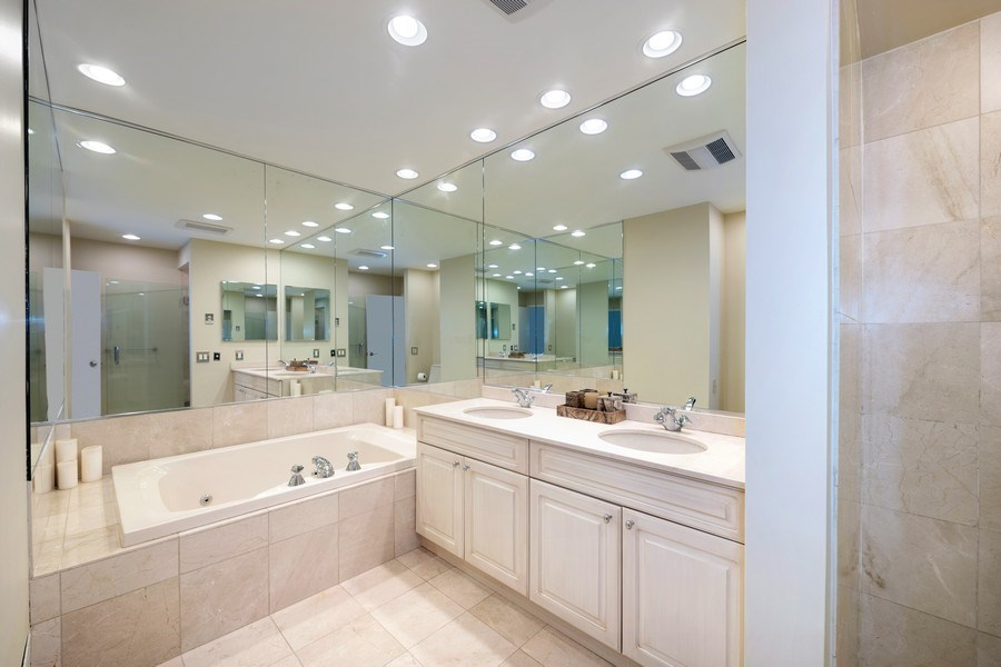 Real Estate Photography - 1740 N. Clark #1730, Chicago, IL, 60614 - Master Bathroom