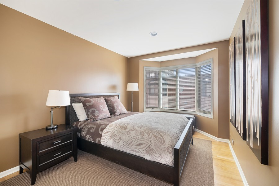 Real Estate Photography - 1740 N. Clark #1730, Chicago, IL, 60614 - Second Bedroom