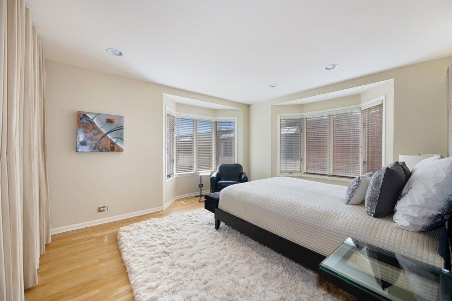 Real Estate Photography - 1740 N. Clark #1730, Chicago, IL, 60614 - Master Bedroom