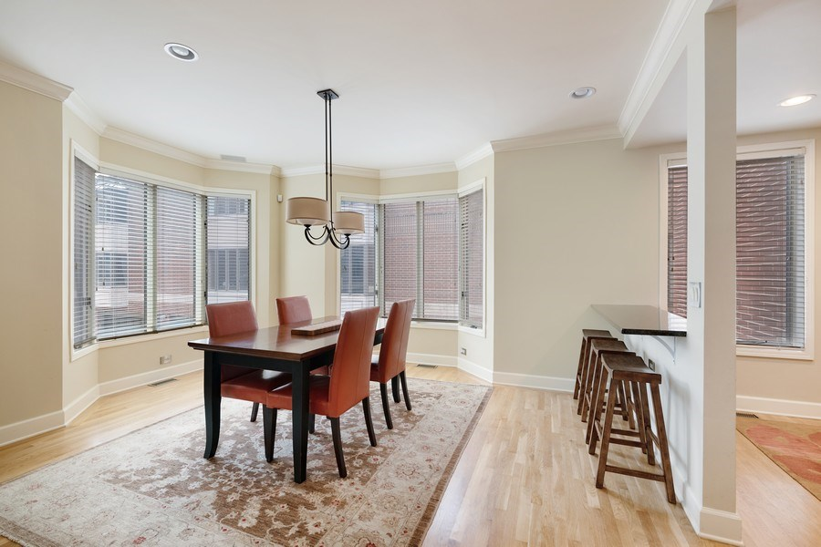 Real Estate Photography - 1740 N. Clark #1730, Chicago, IL, 60614 - Kitchen / Dining Room