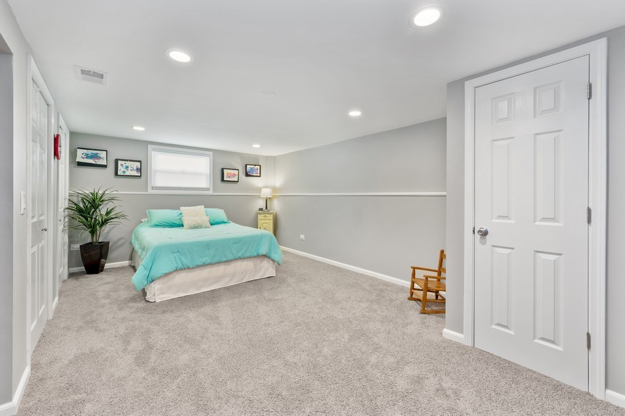 Real Estate Photography - 912 N Drury, Arlington Heights, IL, 60004 - Lower Level/Option Bedroom