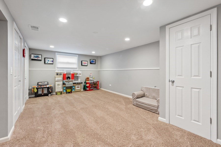 Real Estate Photography - 912 N Drury, Arlington Heights, IL, 60004 - Basement
