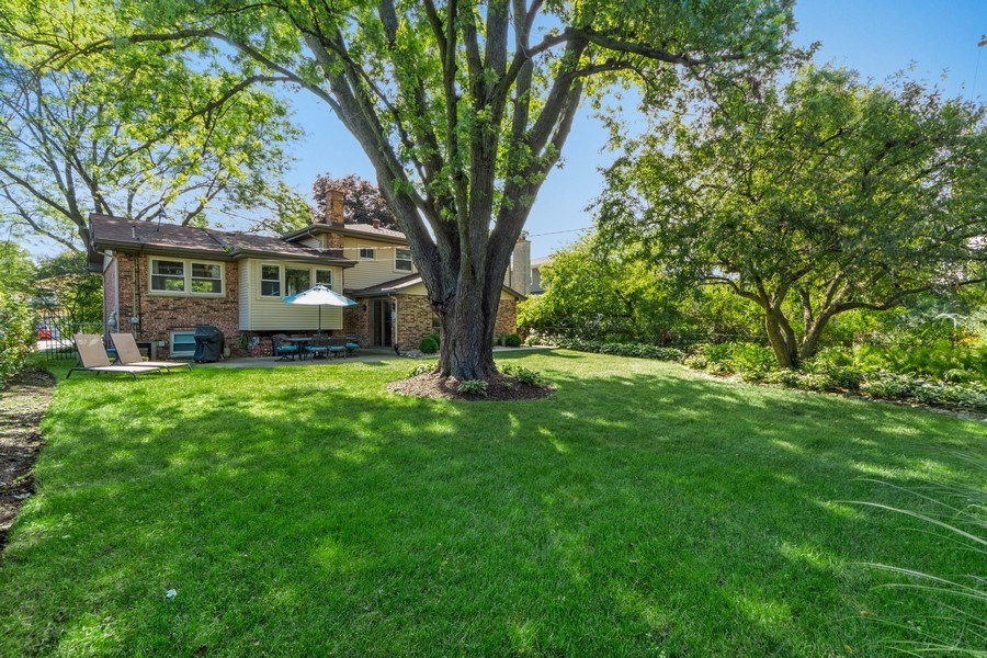 Real Estate Photography - 912 N Drury, Arlington Heights, IL, 60004 - Rear View