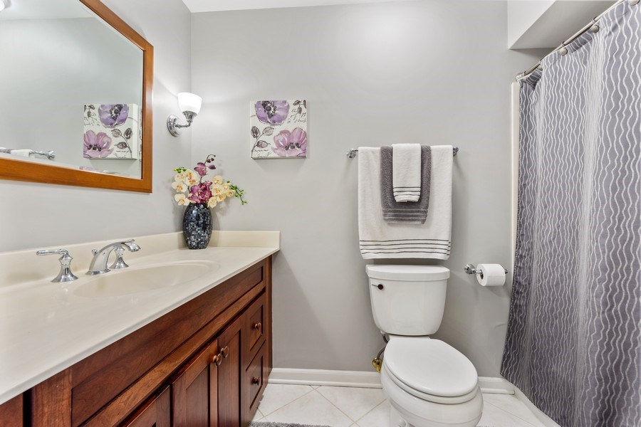 Real Estate Photography - 912 N Drury, Arlington Heights, IL, 60004 - 2nd Bathroom