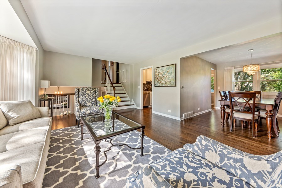 Real Estate Photography - 912 N Drury, Arlington Heights, IL, 60004 - Living Room / Dining Room