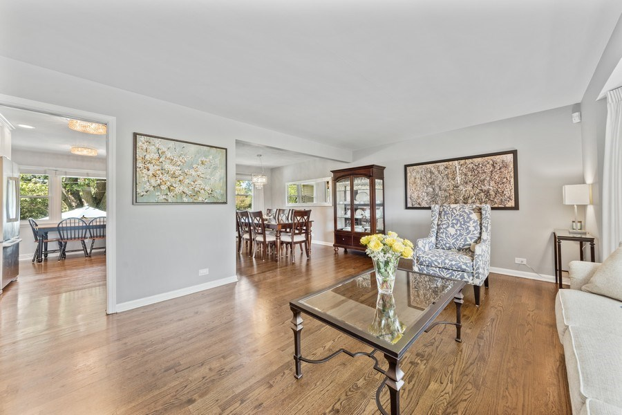 Real Estate Photography - 912 N Drury, Arlington Heights, IL, 60004 - Living Room/Dining Room