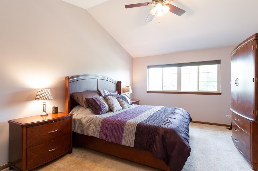 Real Estate Photography - 11 Cambridge Drive, Grayslake, IL, 60030 - Master Bedroom