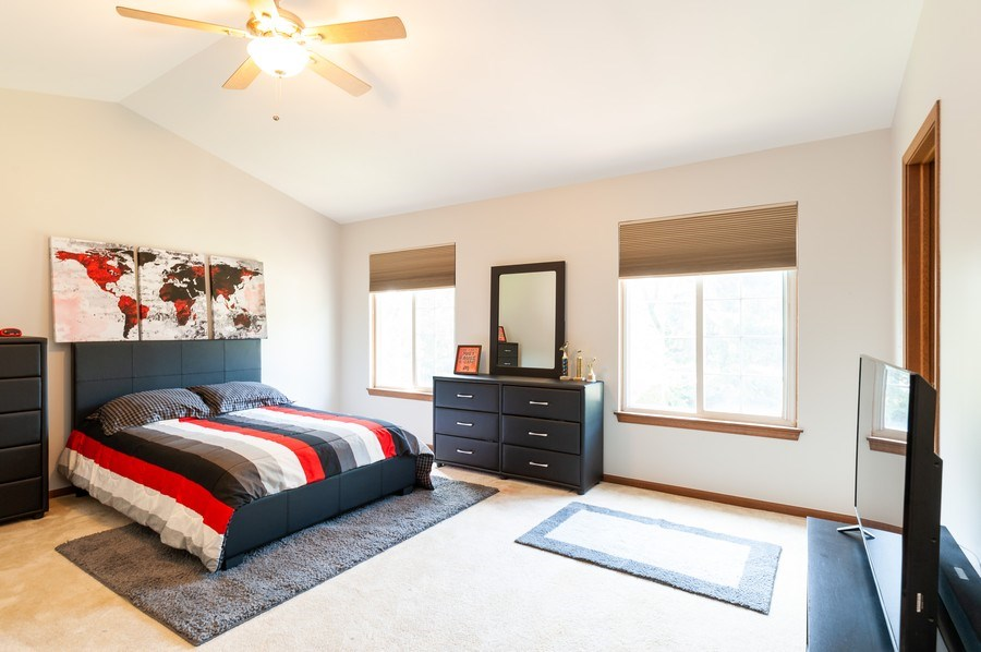 Real Estate Photography - 11 Cambridge Drive, Grayslake, IL, 60030 - 3rd Bedroom