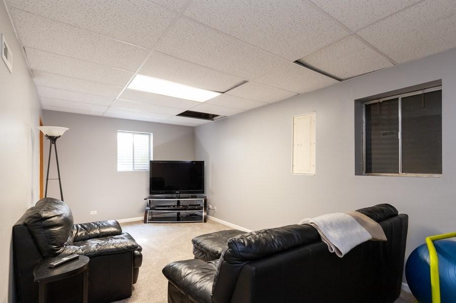 Real Estate Photography - 11 Cambridge Drive, Grayslake, IL, 60030 - Rec Room Basement