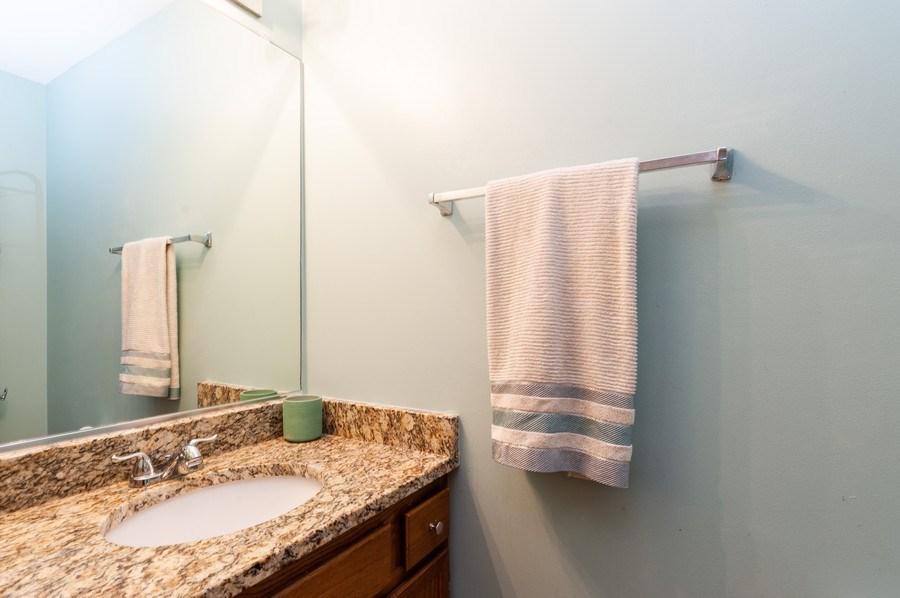 Real Estate Photography - 11 Cambridge Drive, Grayslake, IL, 60030 - Half Bath Main Level