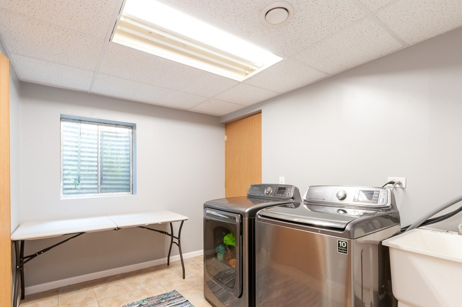 Real Estate Photography - 11 Cambridge Drive, Grayslake, IL, 60030 - Laundry Room