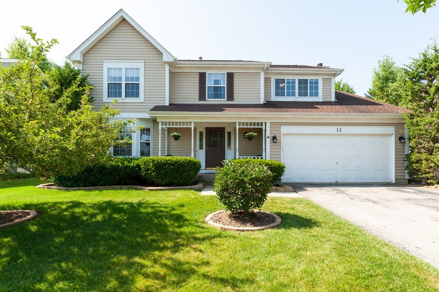 Real Estate Photography - 11 Cambridge Drive, Grayslake, IL, 60030 - Front View