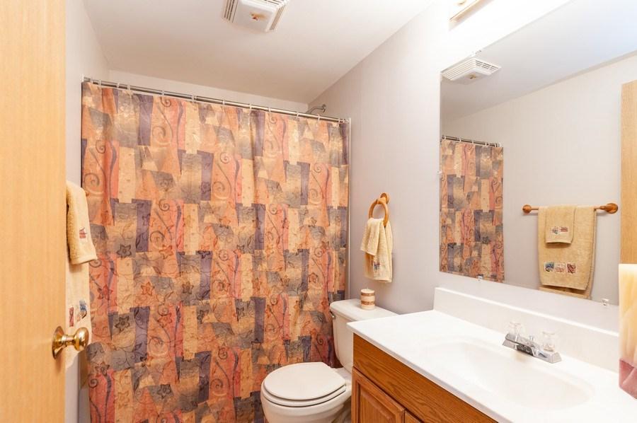 Real Estate Photography - 11 Cambridge Drive, Grayslake, IL, 60030 - Basement Full Bathroom