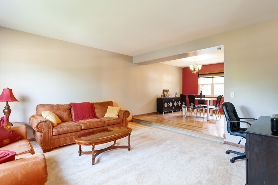 Real Estate Photography - 11 Cambridge Drive, Grayslake, IL, 60030 - Living Room / Dining Room