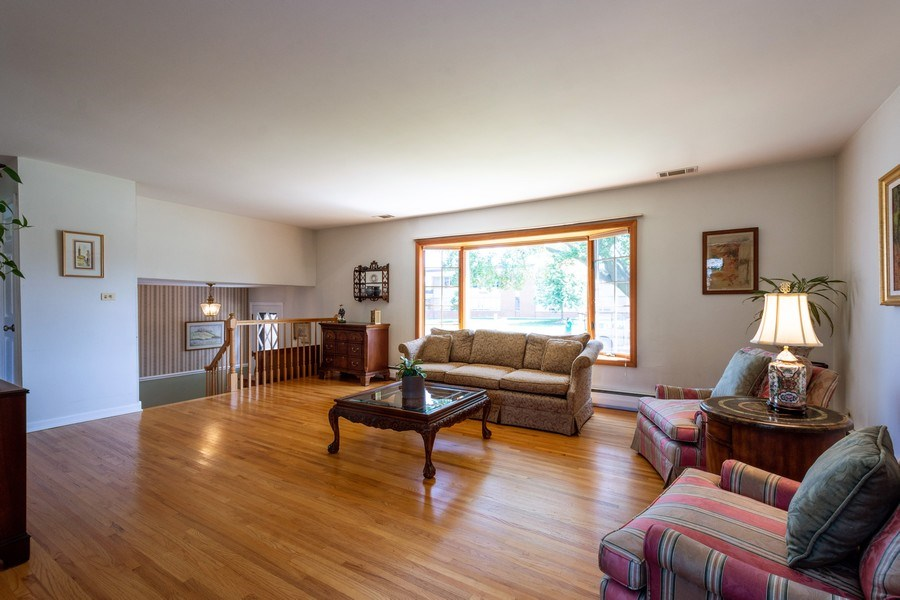 Real Estate Photography - 208 S Evanston Ave, Arlington Heights, IL, 60004 - Living Room