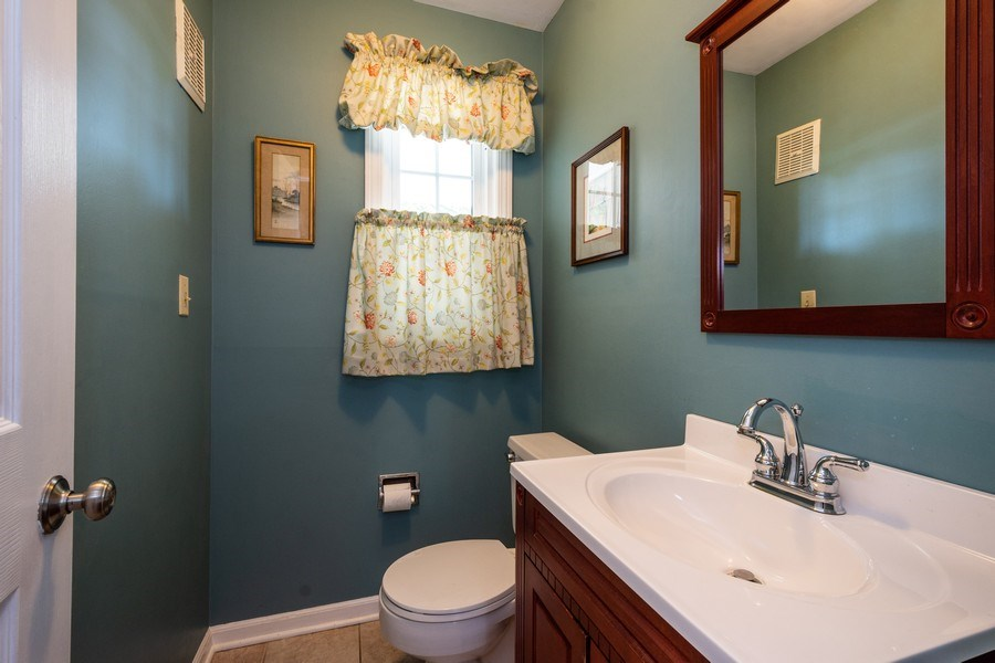 Real Estate Photography - 208 S Evanston Ave, Arlington Heights, IL, 60004 - Powder Room