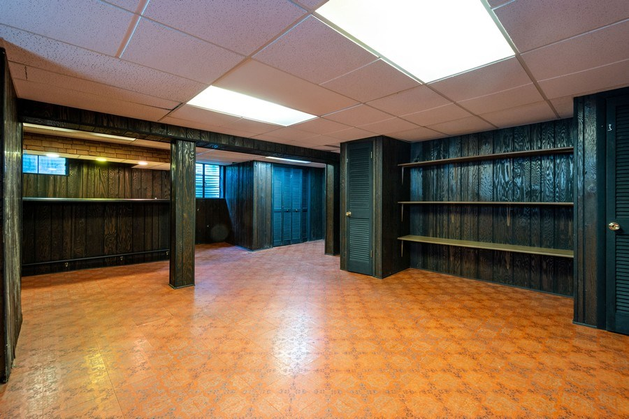 Real Estate Photography - 208 S Evanston Ave, Arlington Heights, IL, 60004 - Basement