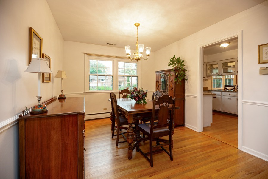 Real Estate Photography - 208 S Evanston Ave, Arlington Heights, IL, 60004 - Dining Area