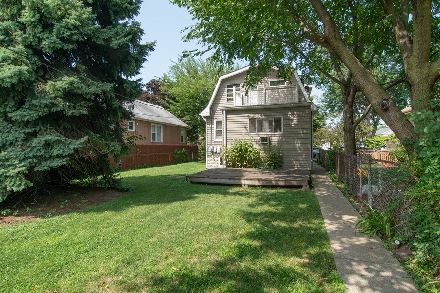 Real Estate Photography - 1512 Elgin Ave, Forest Park, IL, 60130 - Rear View