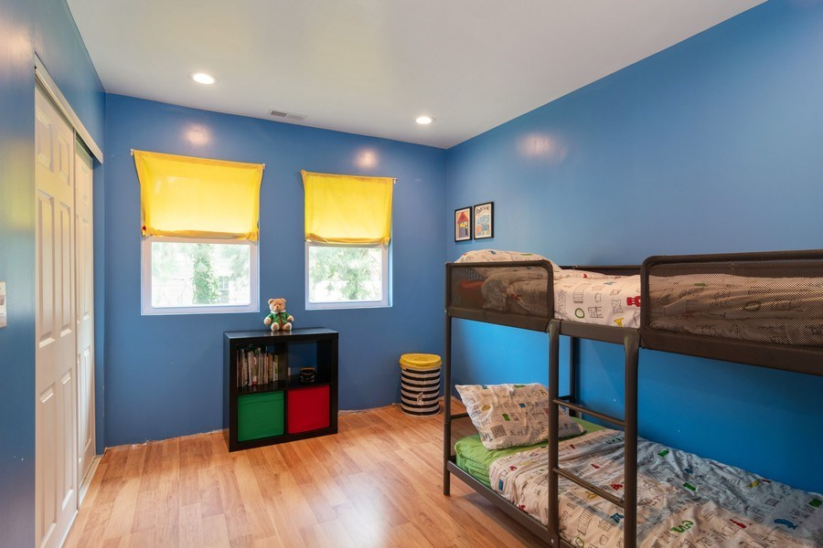 Real Estate Photography - 74 Woodside Road, Riverside, IL, 60546 - 3rd Bedroom