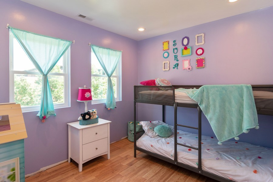 Real Estate Photography - 74 Woodside Road, Riverside, IL, 60546 - 4th Bedroom