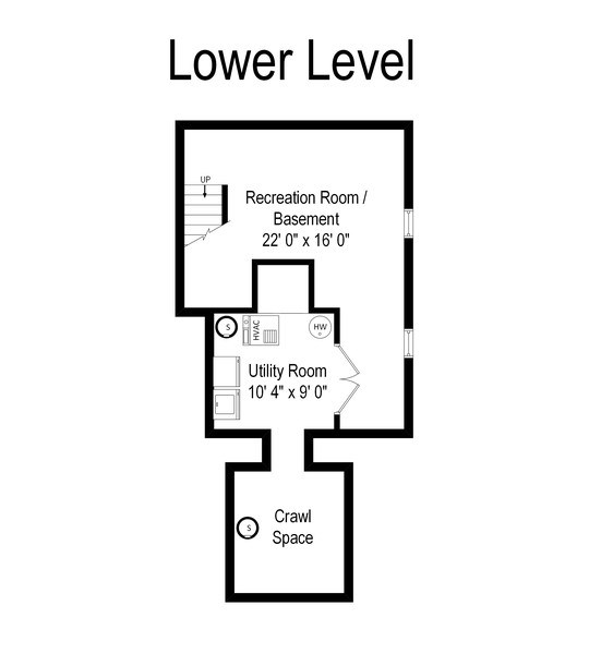 Real Estate Photography - 74 Woodside Road, Riverside, IL, 60546 - Floor Plan