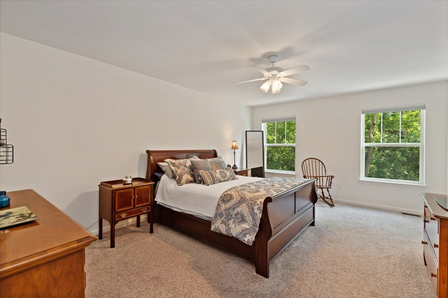 Real Estate Photography - 114 Flint Creek, Hawthorn Woods, IL, 60047 - Master Bedroom