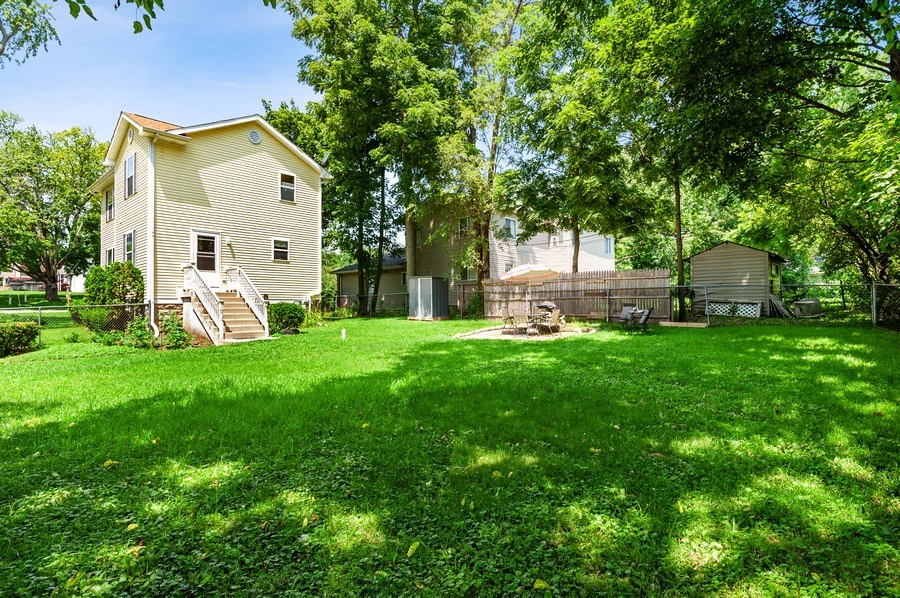 Real Estate Photography - 2820 Hickory Drive, Mccullum Lake, IL, 60050 - Rear View