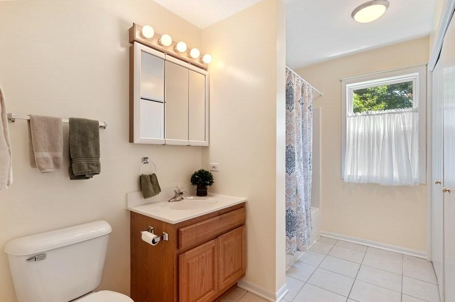 Real Estate Photography - 2820 Hickory Drive, Mccullum Lake, IL, 60050 - Bathroom