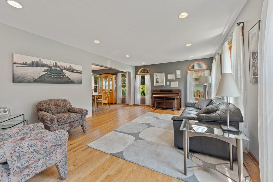 Real Estate Photography - 2630 N Stratford, Arlington Heights, IL, 60004 - Living Room