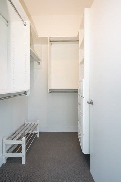 Real Estate Photography - 110 W. Superior St, Unit 1604, Chicago, IL, 60654 - Master Bedroom Closet