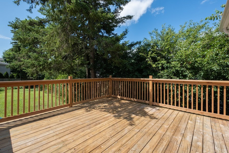 Real Estate Photography - 1038 Cherry, Highland Park, IL, 60035 - Deck