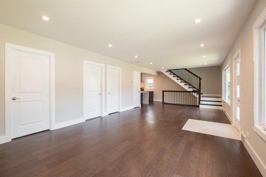 Real Estate Photography - 1038 Cherry, Highland Park, IL, 60035 - Living Room/Dining Room