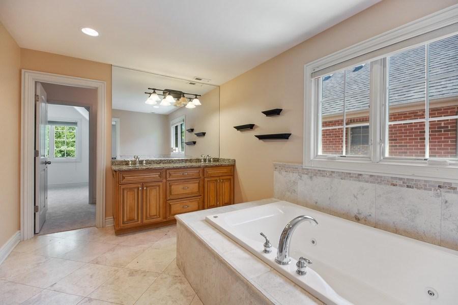 Real Estate Photography - 1326 N Illinois Ave, Arlington Heights, IL, 60005 - Master Bathroom