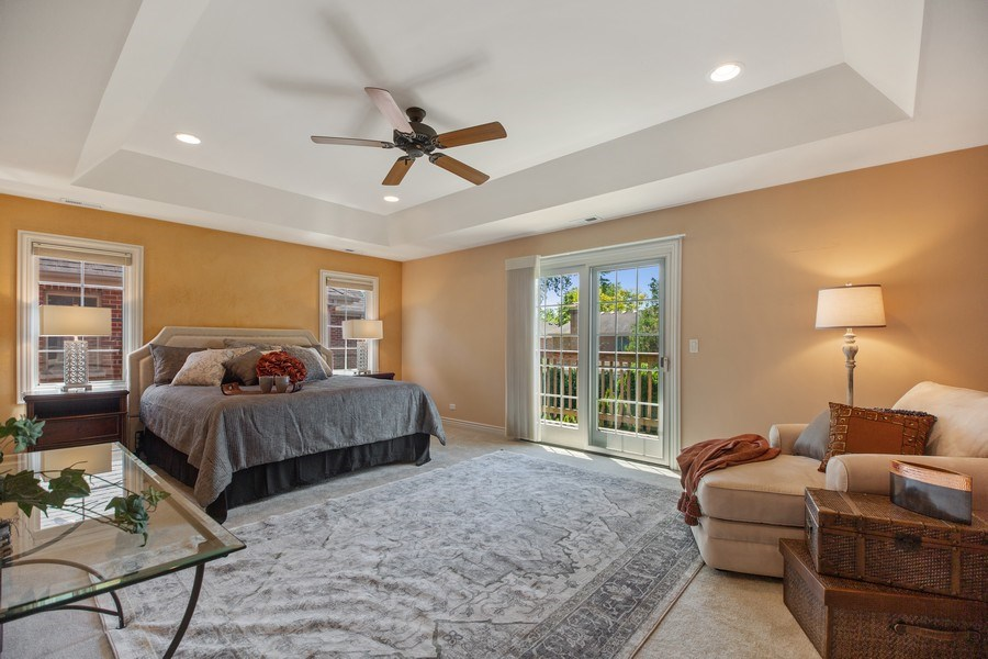 Real Estate Photography - 1326 N Illinois Ave, Arlington Heights, IL, 60005 - Master Bedroom