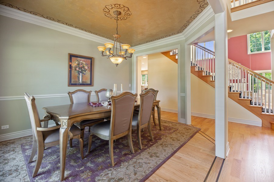 Real Estate Photography - 1326 N Illinois Ave, Arlington Heights, IL, 60005 - Dining Room
