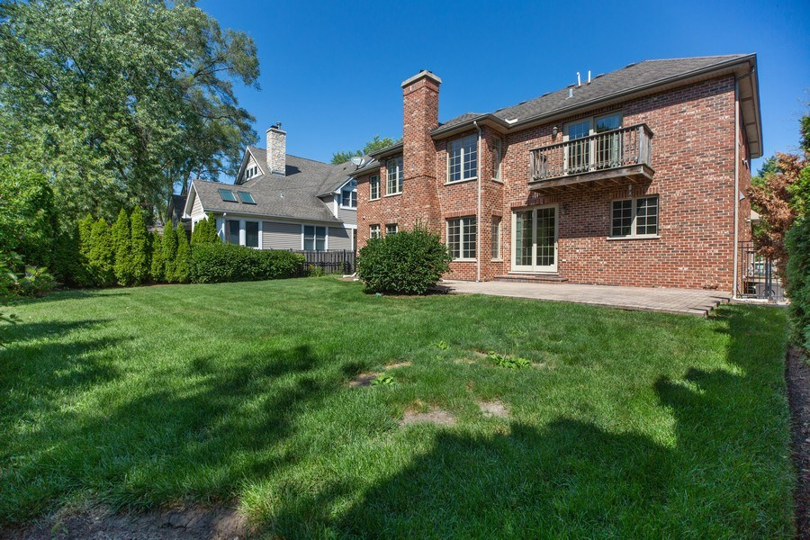 Real Estate Photography - 1326 N Illinois Ave, Arlington Heights, IL, 60005 - Back Yard
