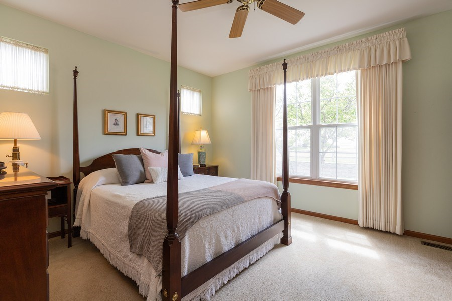 Real Estate Photography - 399 longfield lane, Grayslake, IL, 60030 - Master Bedroom