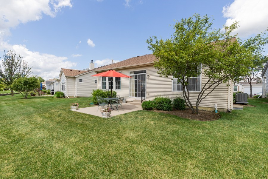 Real Estate Photography - 399 longfield lane, Grayslake, IL, 60030 - Rear View