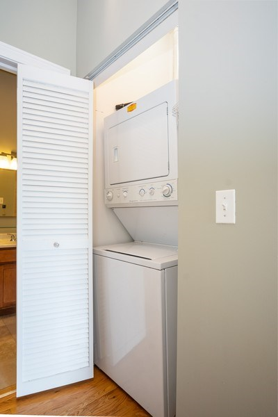 Real Estate Photography - 1707 N Paulina, 304, Chicago, IL, 60622 - Laundry Room