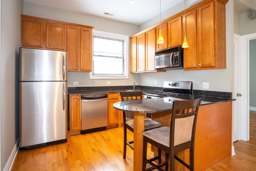 Real Estate Photography - 1707 N Paulina, 304, Chicago, IL, 60622 - Kitchen